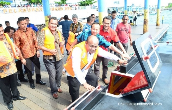 Suzuki Marine buka diler baru di Ternate