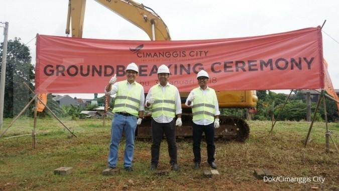 Hari ini apartemen Cimanggis City mulai dibangun