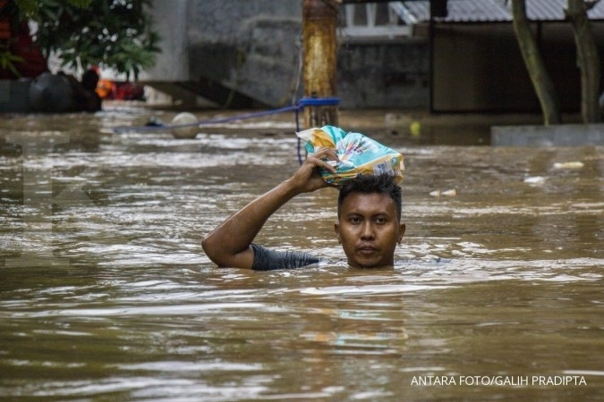 Some 5,000 East Jakartans affected by floods