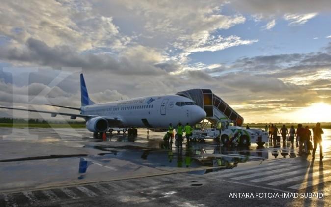 Tarif Batas Atas Tiket Pesawat Turun, Garuda (GIAA) Kurangi Rute Penerbangan