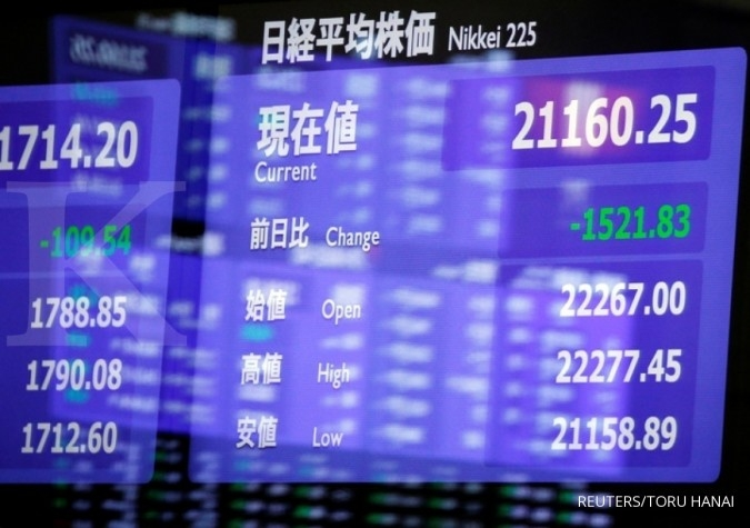 Nikkei ends at 10-week high after Powell comments