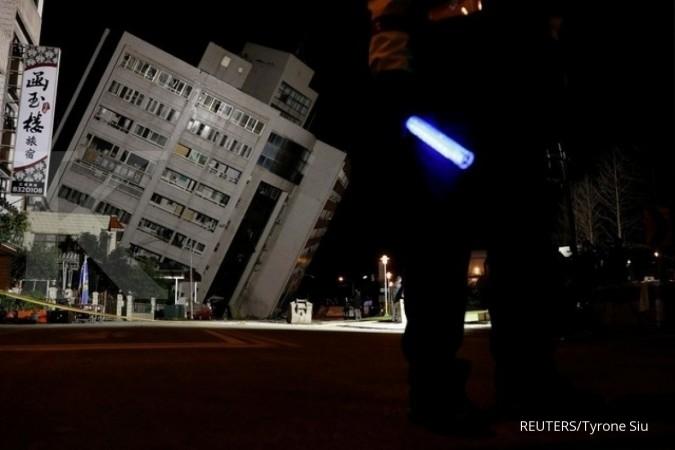Image result for Taiwan Kembali Diguncang Gempa Susulan Berkekuatan 6,4 Magnitudo