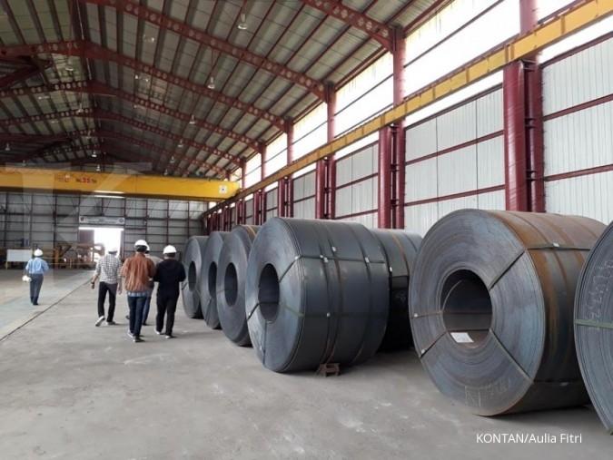 Krakatau Steel mengatur strategi hadapi beleid bea impor baja AS