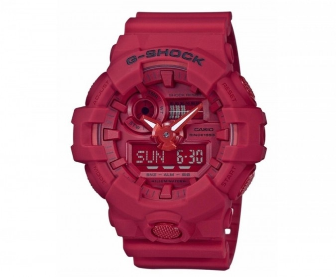 35 Tahun G-SHOCK, Casio Luncurkan Red-Out Collection