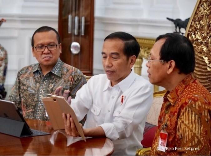 Presiden Jokowi sudah laporkan SPT online, bagaimana menteri-menterinya?