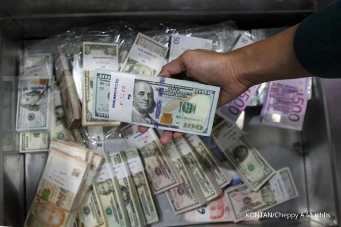 Rupiah kurang bertenaga menghadapi dollar AS
