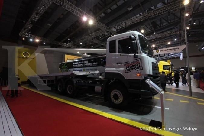 UNTR Industri tambang lesu, UNTR kejar pertumbuhan penjualan truk di sektor logistik