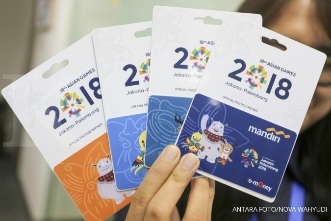 Mandiri luncurkan 1.000 kartu e-money edisi Asian Games