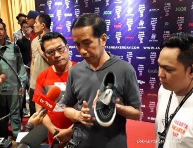 bd6e56efc540a4 Presiden ajak masyarakat dukung produk sneakers dalam negeri