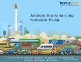Jakarta, Ibukota Indonesia, kota termacet urutan ke-12 di dunia