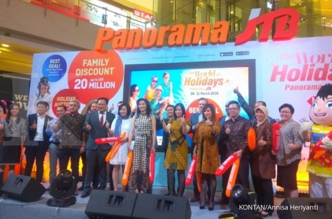 PANR Bidik pendapatan Rp 15 miliar di Kompas Travel Fair 2018, ini strategi Panorama JTB