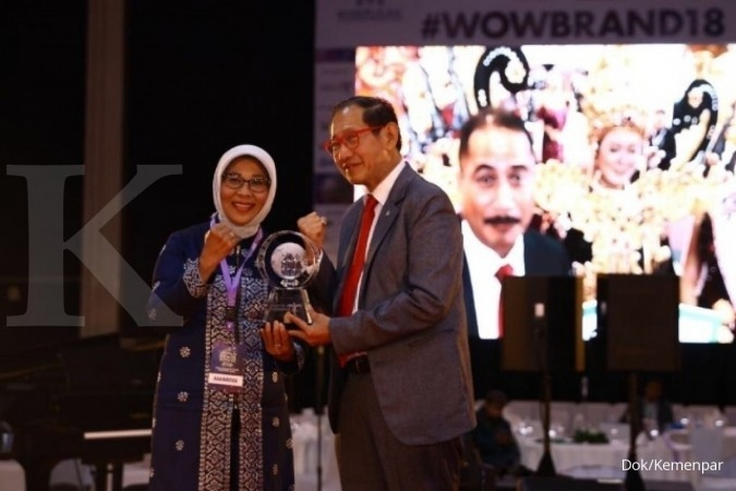 Wonderful Indonesia jadi brand of the year Indonesia 2018