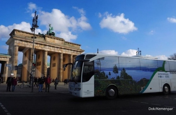 Lagi, bus wonderful Indonesia keliling di Berlin