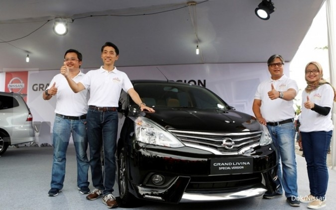 Nissan luncurkan Grand Livina special version