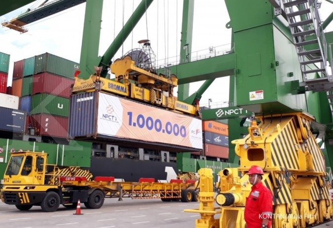 New Priok Container Terminal One catat throughput 1 juta teus