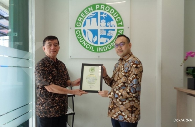 GPC Indonesia beri sertifikat green label Indonesia ke Arwana Citramulia