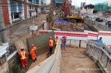 Cawang LRT project temporarily halted following gas leaks