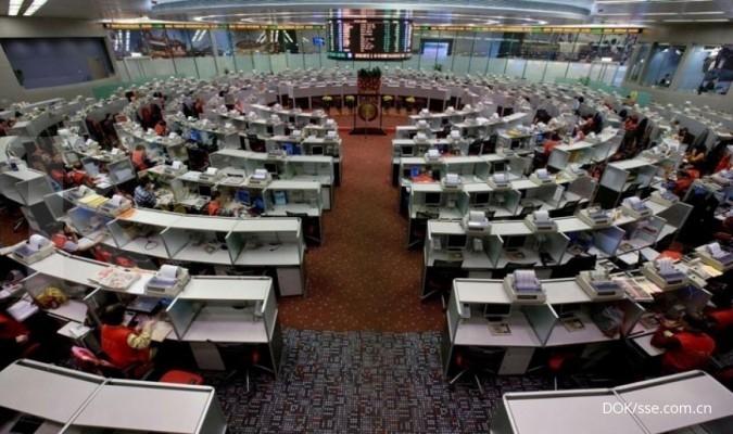 5 Indeks saham dengan penurunan (dalam %) terbesar di dunia pada tahun 2008