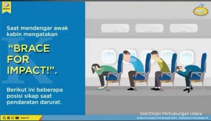 Jangan Panik! Ini Prosedur Keselamatan Ketika Pesawat Mendarat Darurat