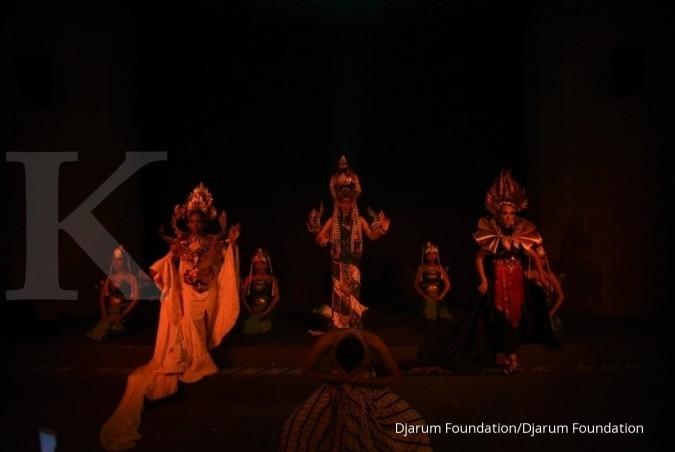 Fashion Art dalam pertunjukan Dewi Legenda Jawa Barat