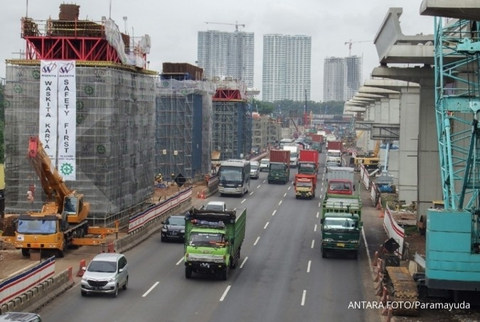 Jakarta-Cikampek elevated toll road construction to be halted during Idul Fitri