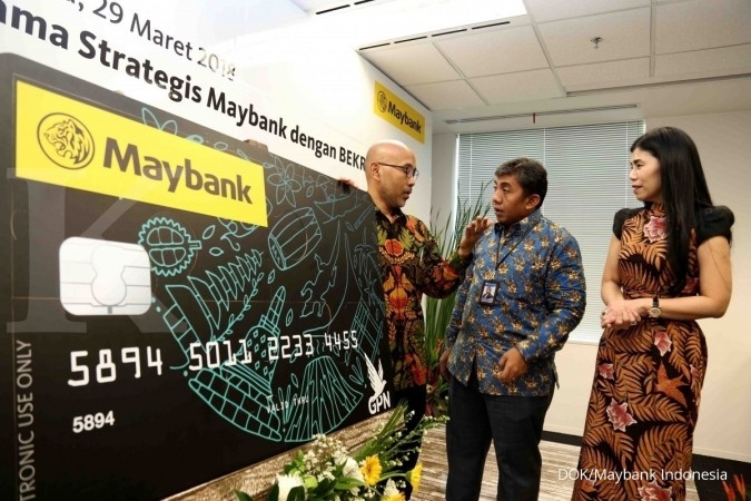 BNII Bank Maybank memulai perdagangan saham rights issue