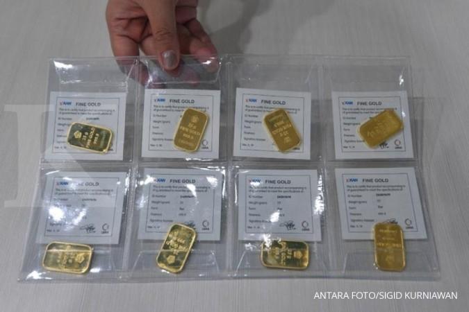 Harga Emas Antam Hari Ini Rp 650000 Per Gram