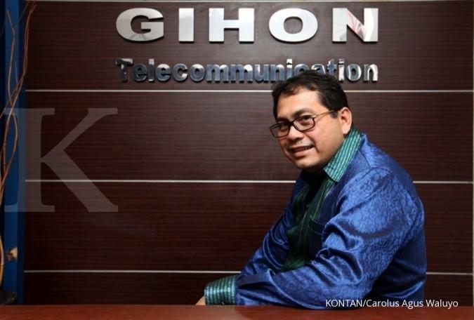Gihon Telekomunikasi (GHON) proyeksikan pertumbuhan pendapatan naik 12% di tahun ini