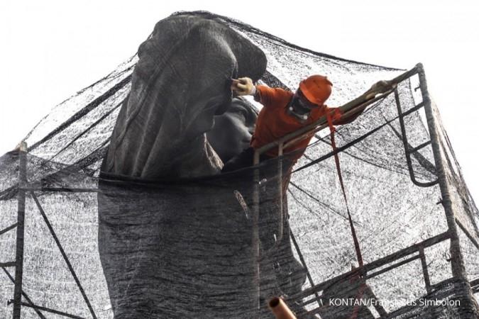 Patung Jenderal Sudirman akan dipasang masker oleh Pemprov DKI Jakarta