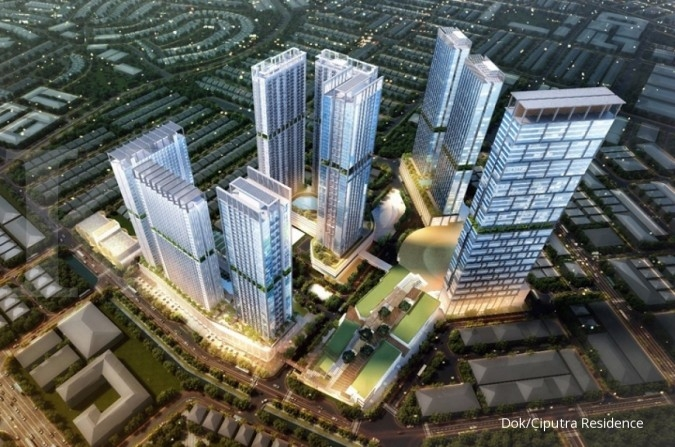 CTRA Ciputra Development (CTRA) perkirakan target marketing sales 2019 stagnan