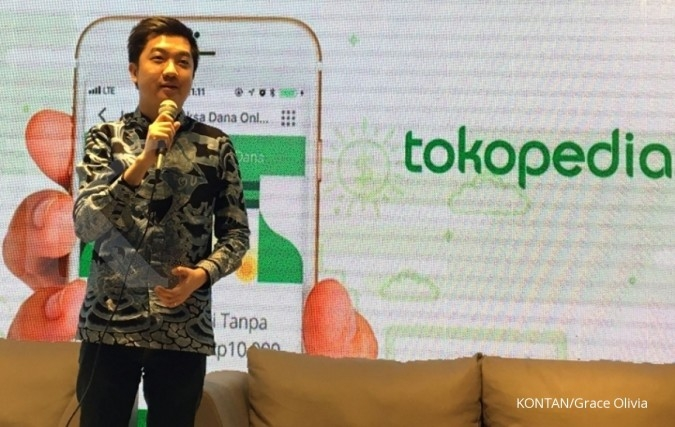 William Tanuwijaya ingin mitra Tokopedia tumbuh jadi merek global