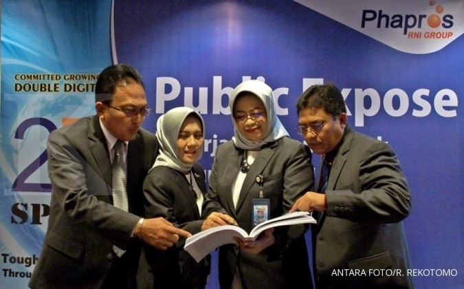 Phapros Berniat Rights Issue 25% Saham Tahun Depan