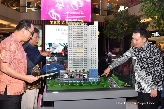 Trimitra Propertindo soft launching apartemen tower The Canary Serpong