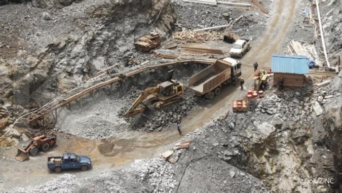 ZINC Pengerjaan proyek smelter Kapuas Prima Coal (ZINC) tersendat wabah corona