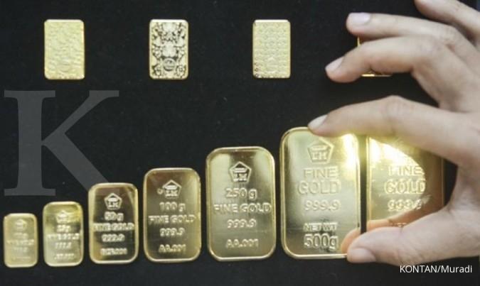 Harga emas Antam di Pegadaian pagi ini Rp 1.043.000 per gram (3 Agustus 2020) - Personal Finance Kontan