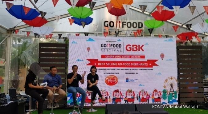 Merchant Go-Food berkontribusi Rp 302 miliar ke ekonomi Jakarta