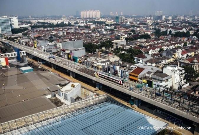 Menhub Budi: Proyek LRT Kelapa Gading akan selesai tepat waktu
