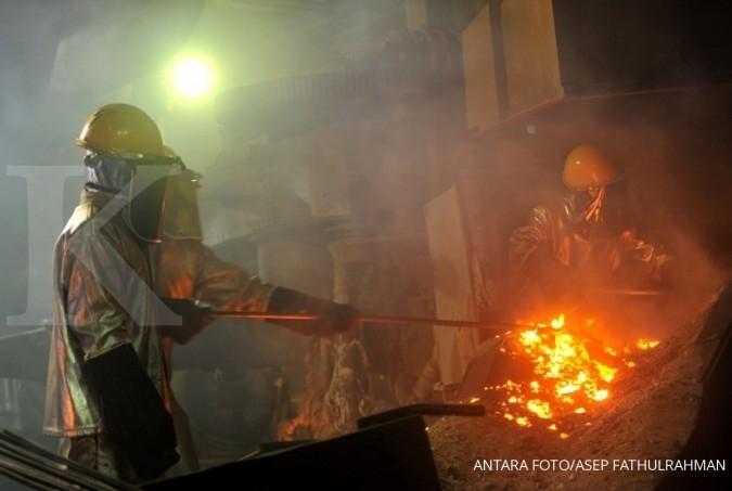 ANTM Kinerja cemerlang, harga saham Aneka Tambang melesat 46,9% sejak awal tahun