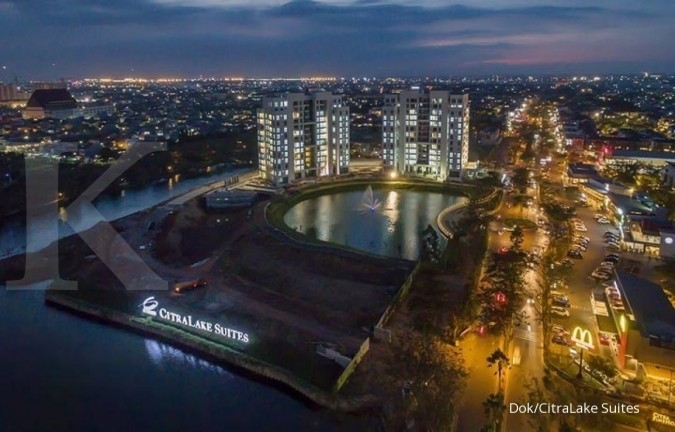 Ciputra Group optimistis dua tower apartemen CitraLake Suites terjual di semester II