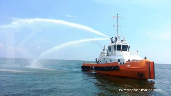 Steadfast Marine (KPAL) optimalkan bisnis sewa kapal tahun ini