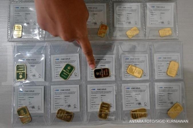 Akhir Pekan Harga Jual Emas Antam Terus Merosot Ke Rp 646000 Per Gram