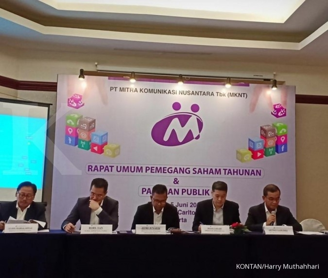 Mitra Komunikasi Nusantara (MKNT) geser komisaris di anak usaha