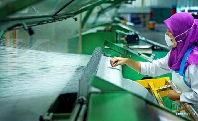 MYTX Asia Pacific Investama (MYTX) produksi 3.000 pieces masker kain untuk karyawan