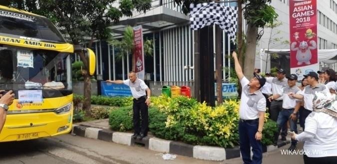 WIKA Wijaya Karyaberangkatkan 1.800 pemudik dari 11 embarkasi