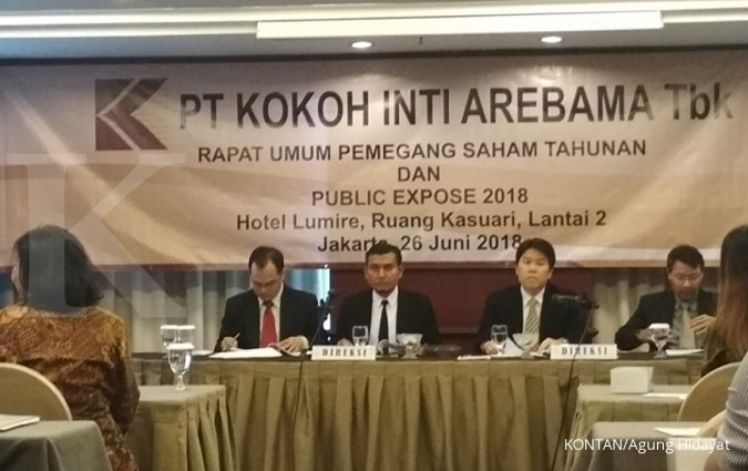 KOIN Kokoh Inti (KOIN) targetkan penjualan bersih Rp 1,9 triliun tahun ini
