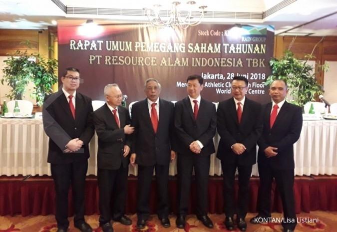 KKGI Resource Alam Indonesia (KKGI) siapkan belanja modal US$ 2,5 juta tahun depan