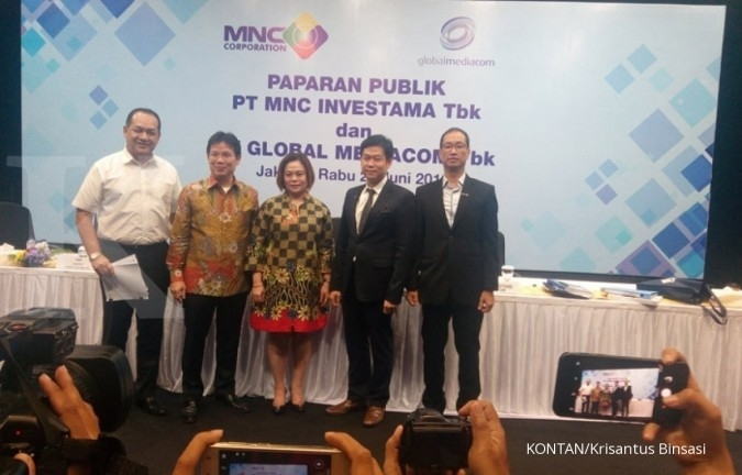PT MNC Investama Tbk (BHIT) plans to hold a rights issue