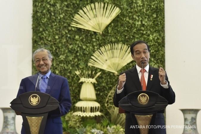 Jokowi dan Iriana dijamu sambal sotong petai dan bakwan udang di Putrajaya