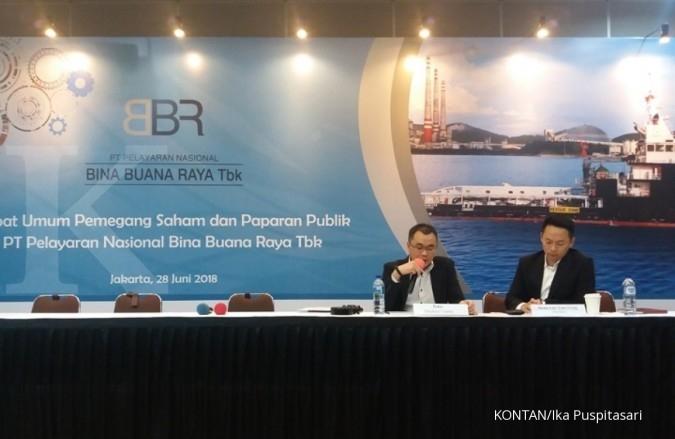 BBRM Pelayaran Nasional Bina Buana (BBRM) alami peningkatan kerugian di semester I