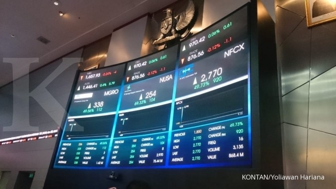 Melantai perdana, saham NFC Indonesia (NFCX) naik 49,73% di batas auto rejection